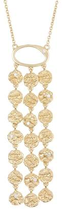 Sole Society Disc Chain Pendant Necklace