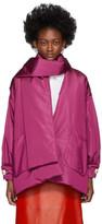 Gucci Pink Silk Bomber Jacket