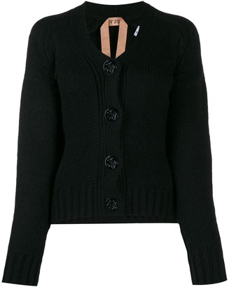 No.21 knitted cardigan