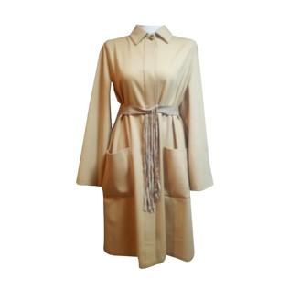 Kiton Beige Wool Coats