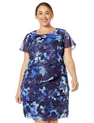 SL Fashions Blue Women\'s Plus Sizes - ShopStyle