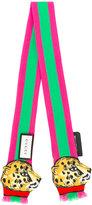 Gucci tiger web scarf - women - Silk - One Size