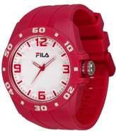 Fila Unisex Quartz Watch with Black Dial Analogue Display Quartz Plastic & 1036 – 05