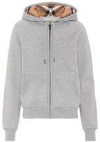 Burberry Cotton-blend hoodie