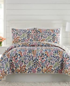 Vera Bradley Petite Floral Full/Queen Quilt