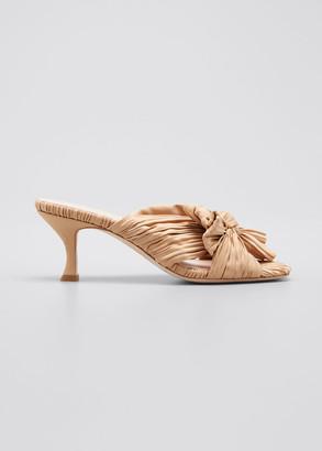 Loeffler Randall 65mm Eugenia Pleated Mule Sandals