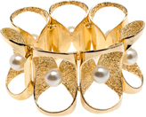 Lara Bohinc Pearl Petal Bracelet