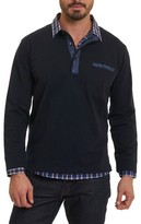 Robert Graham Men's Chancey Partial Button Pullover