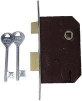 Laxmi Aluminium Metal Door Hook 4 Lever Sliding Lock Flush Pull Slide Lockset
