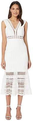 Bardot Petra Lace Dress (Ivory) Women's Dress