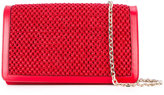 Casadei woven shoulder bag - women - Polyamide/Satin/Kid Leather - One Size