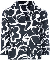 Garpart floral print cropped shirt