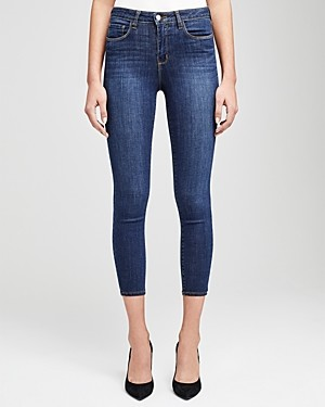 L'Agence Margot High-Rise Skinny Jeans in Prime Blue