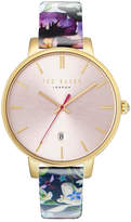 Ted Baker Women's Kate Leather Strap Watch, 38mm
