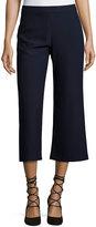 Lucy Paris Classic High-Waist Crop Pant, Navy