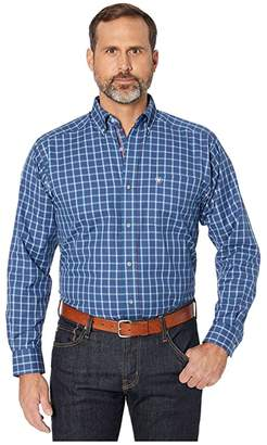 Ariat Dalcin Long Sleeve Shirt (Midnight Sea) Men's Long Sleeve Button Up