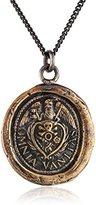 Pyrrha Bronze Vanity Talisman Necklace