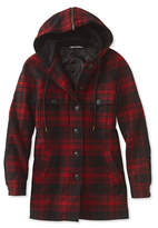 L.L. Bean Signature Sherpa-Lined Heritage Jacket, Plaid
