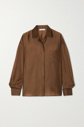 LVIR Tencel-blend Shirt - Brown