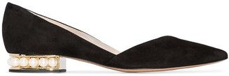 Nicholas Kirkwood Casati D'Orsay ballerina shoes