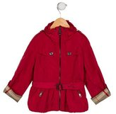 Burberry Girls' Lightweight belted Jacket w/ Tags