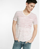 Express Striped Short Sleeve Tee