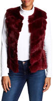 Bagatelle Genuine Rabbit Fur & Suede Vest