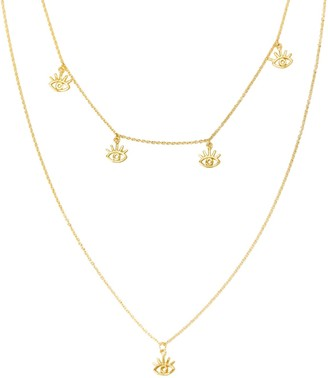 Amorcito Gold Earth Goddess Layered Necklace