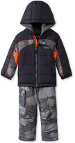 London Fog 2-Pc. Camo-Print Snowsuit, Toddler Boys (2T-5T)