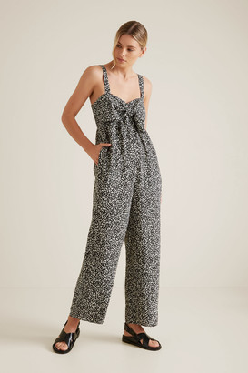 Seed Heritage Bow Front Animal Jumpsuit