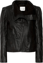 Maje Textured-suede jacket