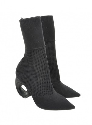 Burberry Black Polyester Ankle boots