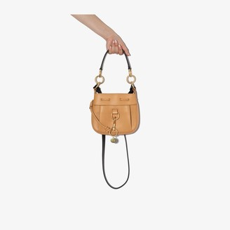 See by Chloe brown Tony small leather bucket bag