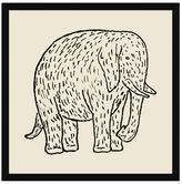 Soicher Marin Furry Elephant (Framed Giclee)
