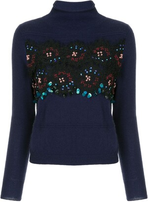 Onefifteen Sequin Embellished Sweater