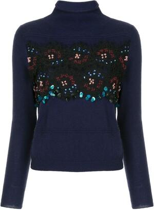 Sequin Embellished Sweater