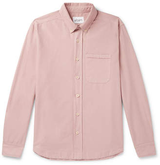 Albam Button-Down Collar Cotton Oxford Shirt