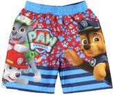 Nickelodeon Little Boys' Paw Patrol Swim Trunks