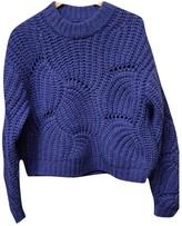 Samsoe & Samsoe Purple Wool Knitwear for Women