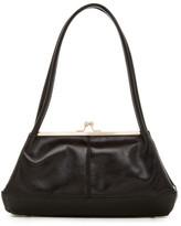 Hobo Gina Leather Framed Shoulder Bag
