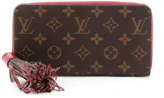 Louis Vuitton Tassel Zippy Wallet Monogram Canvas
