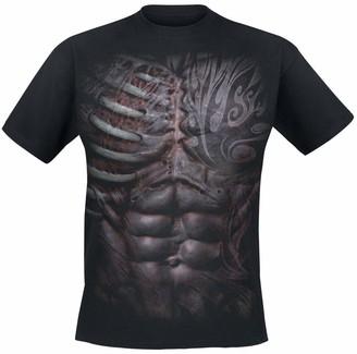 Spiral Direct Spiral - Men - Ripped - T-Shirt Black XL