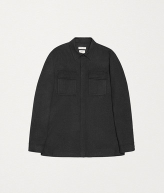 Bottega Veneta SHIRT JACKET IN CASHMERE