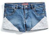 GUESS Lace Denim Shorts (2-6)