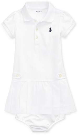 bb8f72ff Girls' Pleated Polo Dress & Bloomers Set - Baby