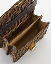 Fendi Tevere Mini Zucca Bag, Tobacco