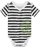 Painted Stripe Organic Cotton Bodysuit