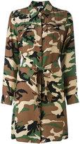 P.A.R.O.S.H. belted shirt dress - women - Silk - S