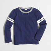 J.Crew Factory Factory boys' long-sleeve varsity tee with contrast ringer