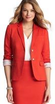 LOFT Clean Cotton Blend Jacket
